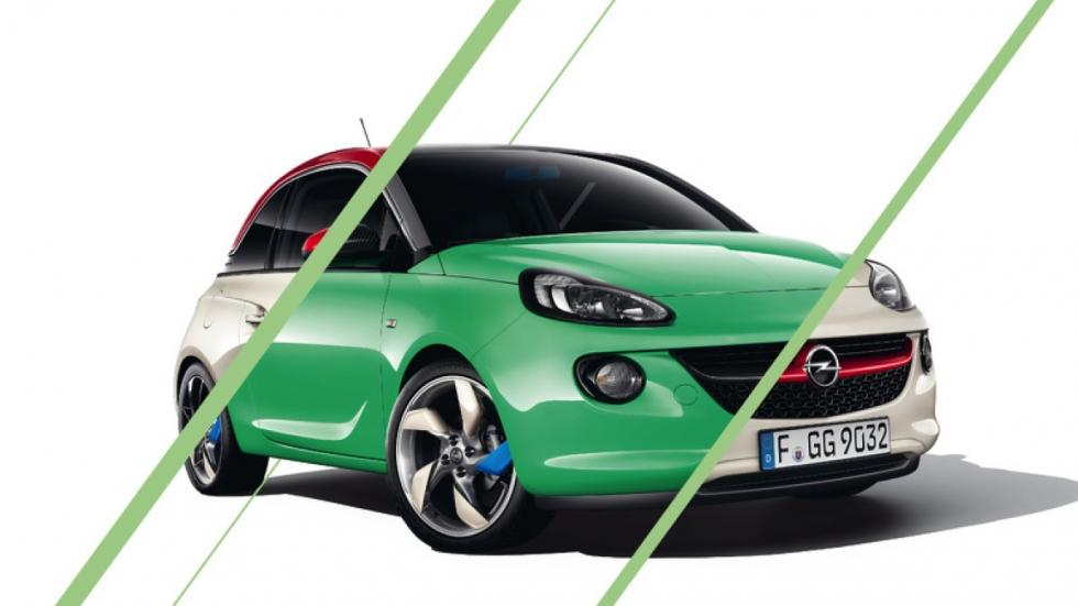 Opel Adam Unlimited frontal