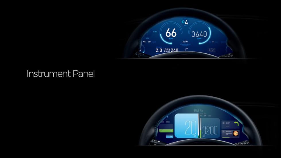 Aston Martin Rapide S Concept relojes