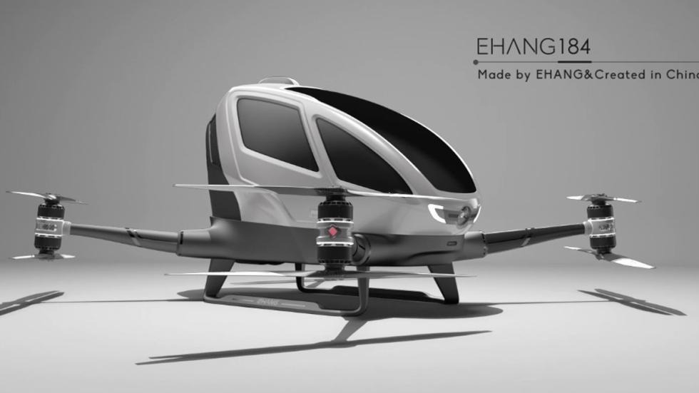 primer dron del mundo se ha presentado en el CES 2016