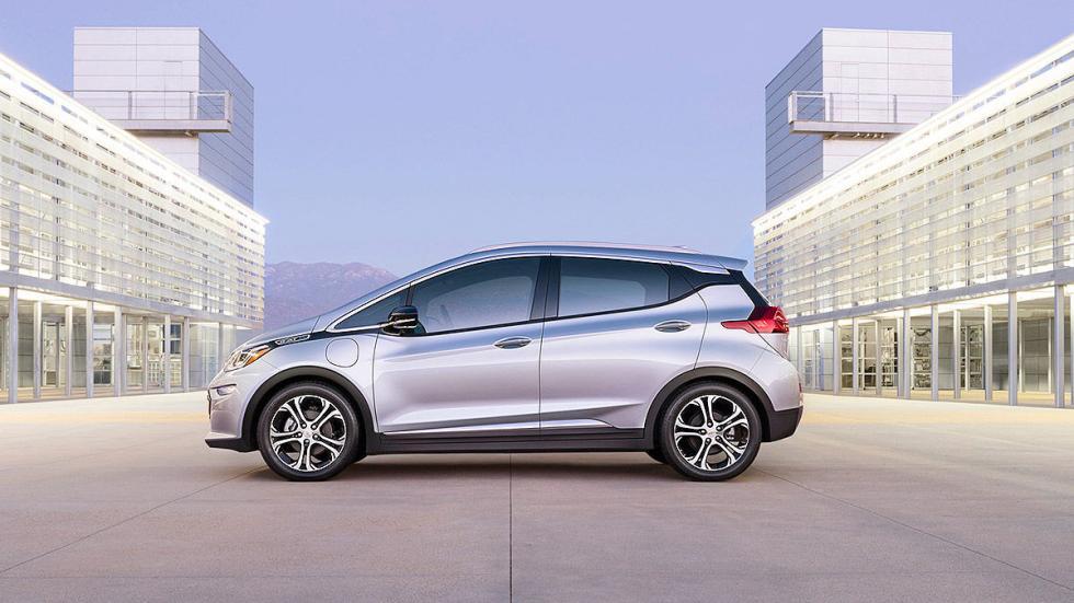 Primera prueba: Chevrolet Bolt EV eléctrico detalle lateral