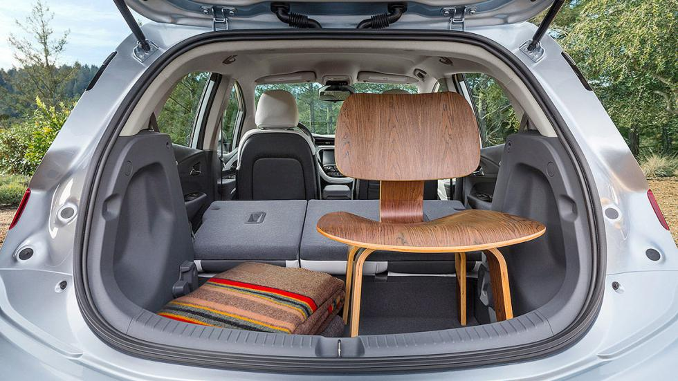 Primera prueba: Chevrolet Bolt EV eléctrico detalle maletero