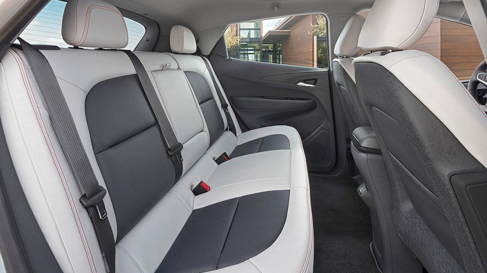 Primera prueba: Chevrolet Bolt EV eléctrico detalle traseras