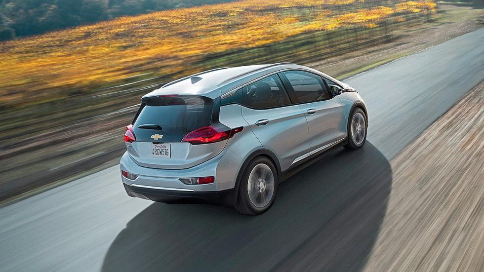 Primera prueba: Chevrolet Bolt EV eléctrico zaga
