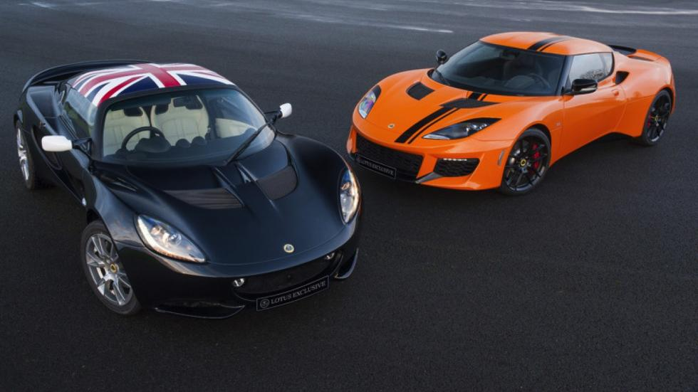 Lotus Exclusive Evora y Elise