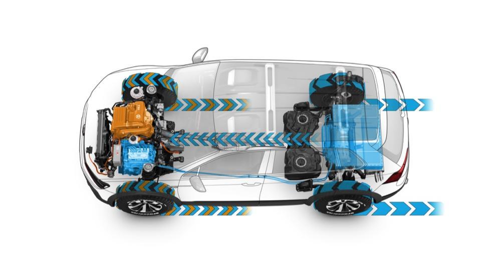 Volkswagen Tiguan GTE Active concept mecánica