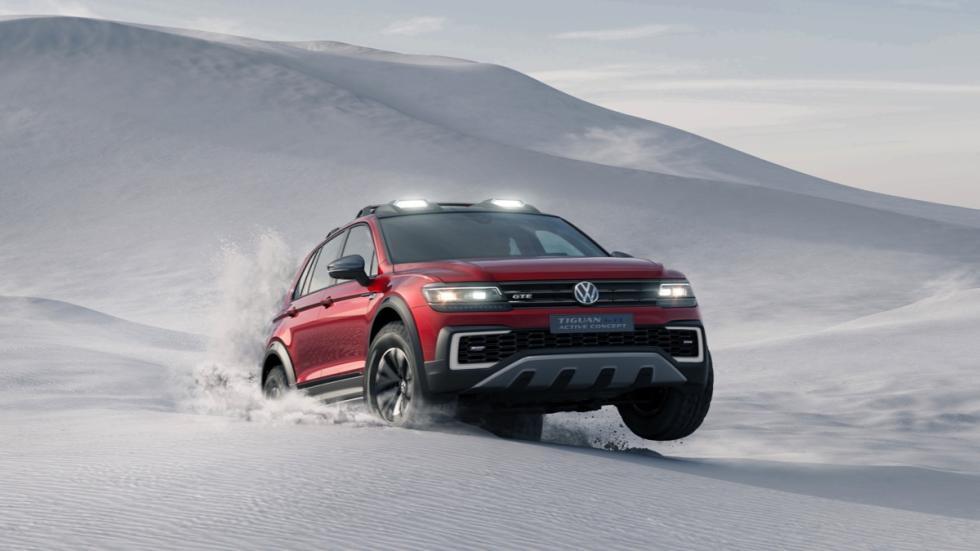 Volkswagen Tiguan GTE Active concept nieve