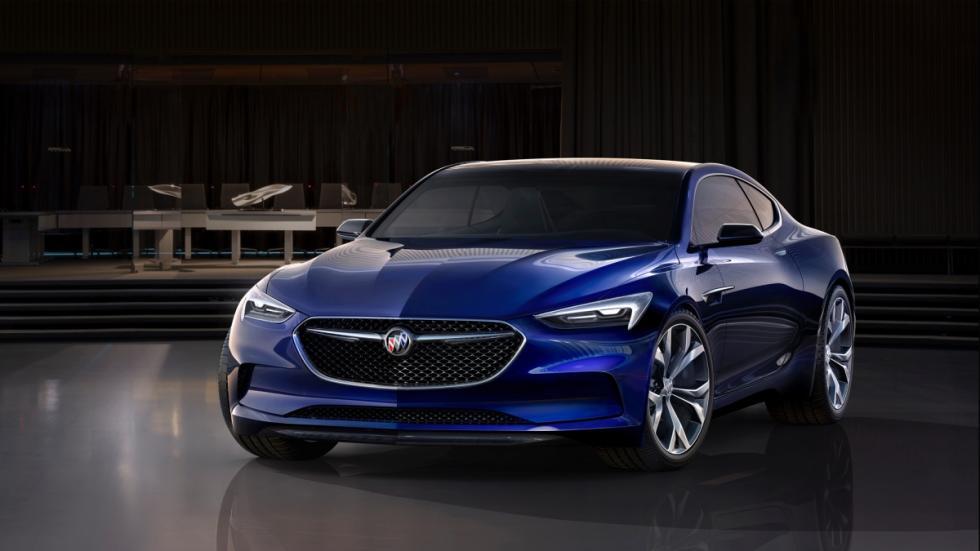 frontal Buick Avista Concept