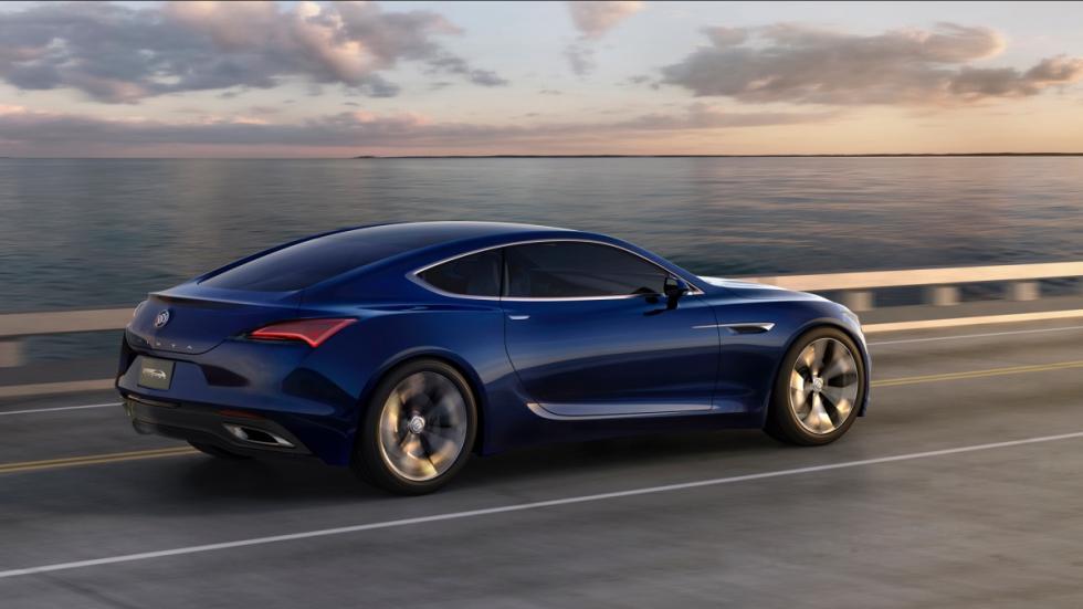 trasera en marcha Buick Avista Concept