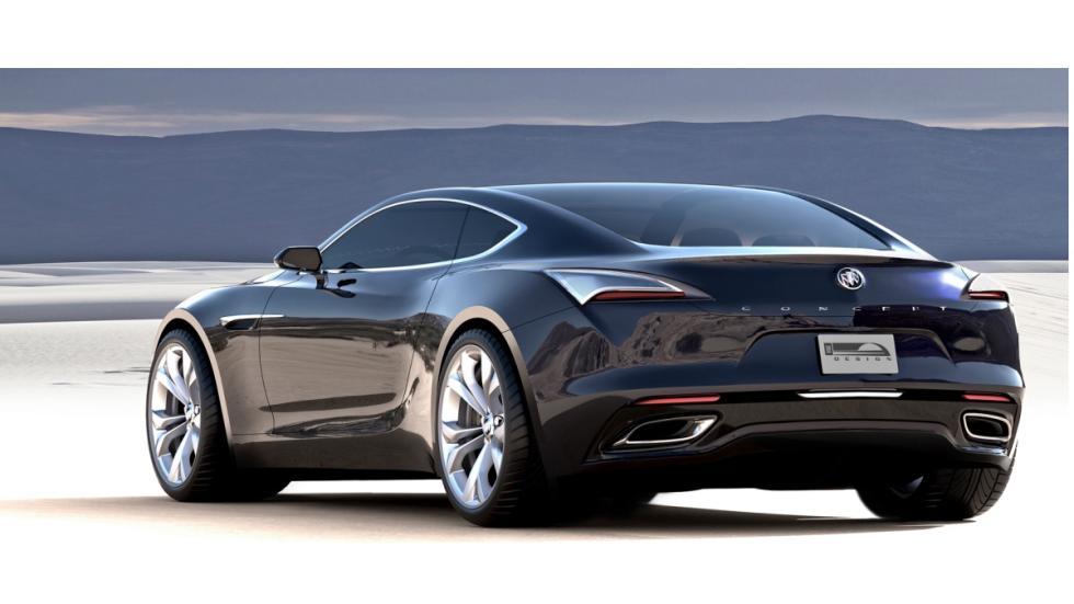 trasera Buick Avista Concept