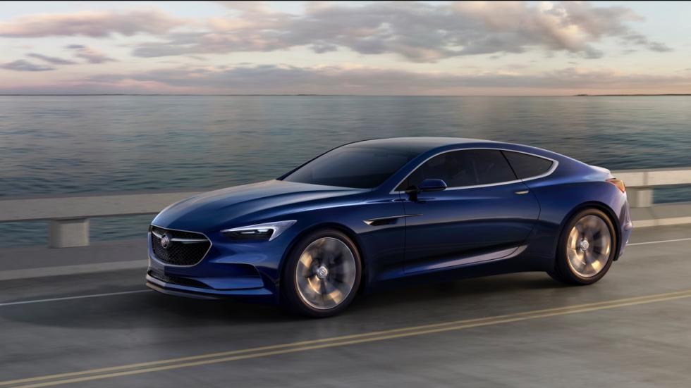 rodando Buick Avista Concept