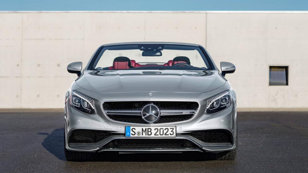 Mercedes S63 AMG Cabriolet Edition 130 frontal