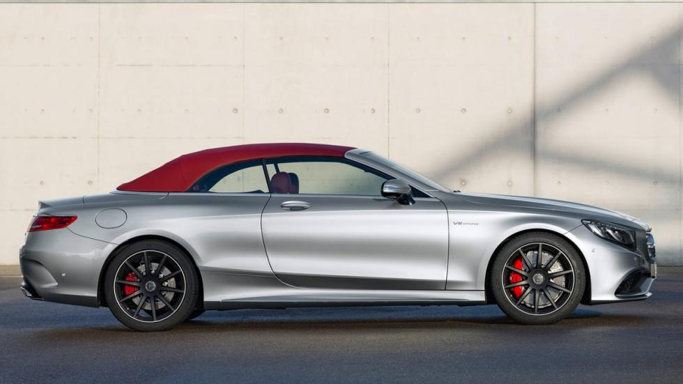 Mercedes S63 AMG Cabriolet Edition 130 lateral