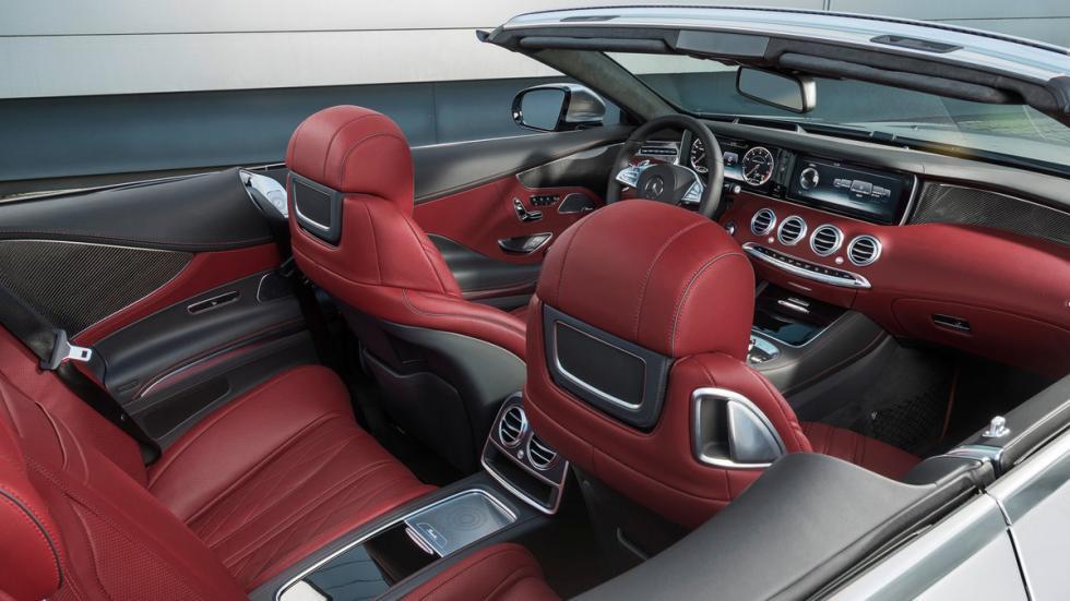Mercedes S63 AMG Cabriolet Edition 130 interior