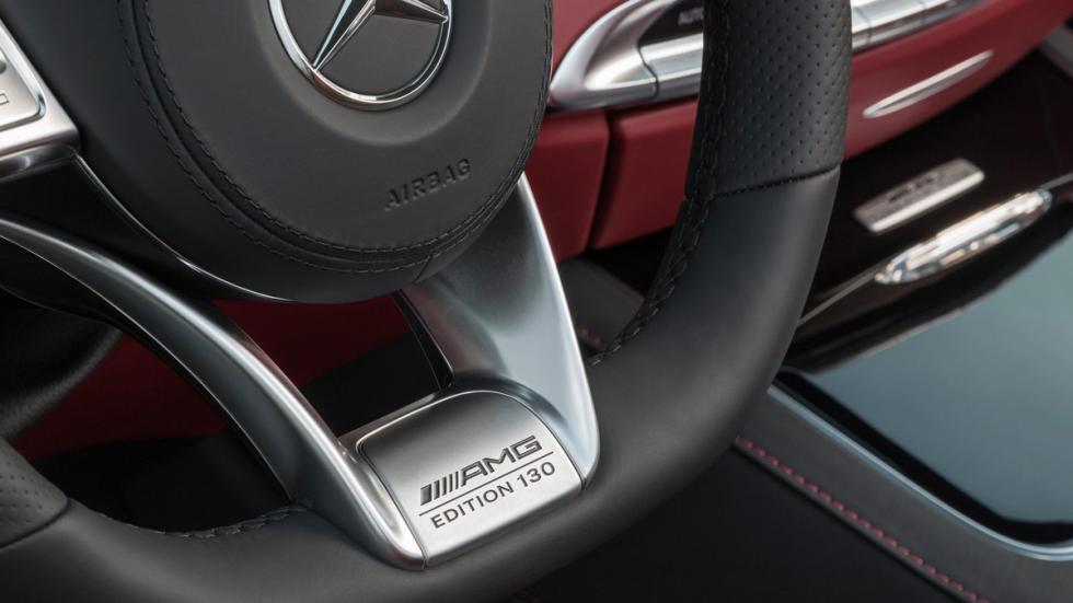 Mercedes S63 AMG Cabriolet Edition 130 placa