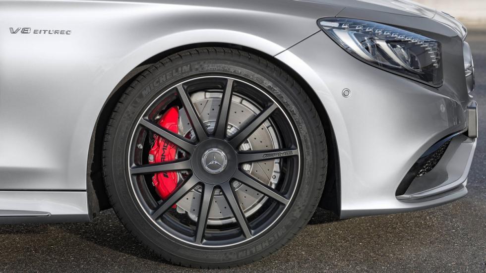 Mercedes S63 AMG Cabriolet Edition 130 frenos rojos