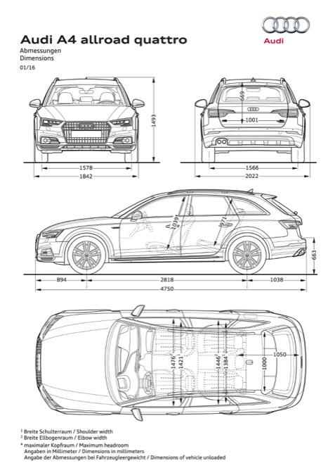 Nuevo Audi A4 allroad quattro 2016