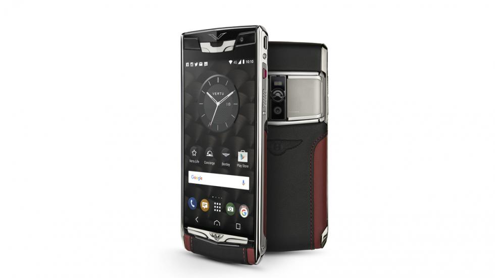 smartphone de lujo de Bentley