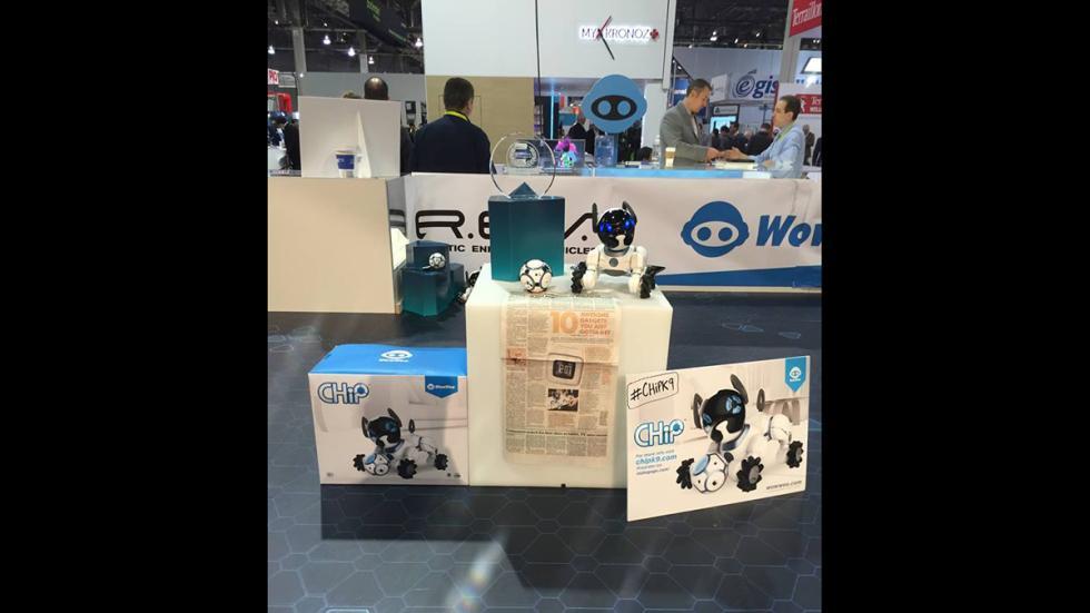 WowWee en el Consumer Electronics Show (CES) 2016.