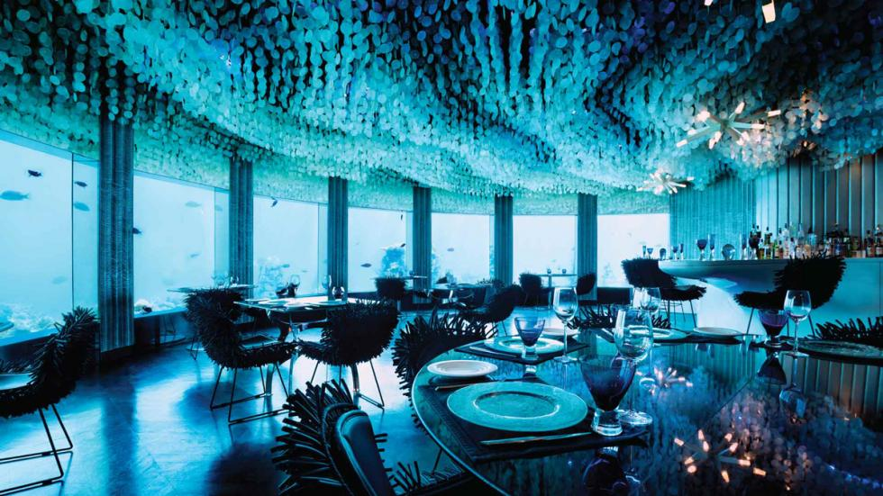 primera discoteca submarina del mundo está en las Islas Maldivas