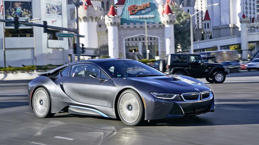 BMW i8 Mirrorles cámara Las Vegas