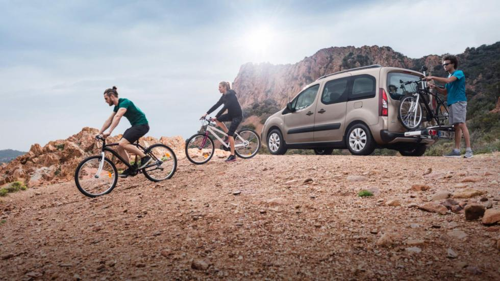 Citroën Berlingo Multispace bicis