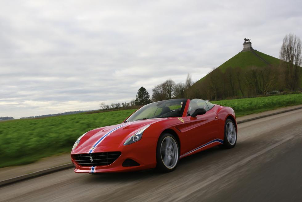 Ferrari California T Tailor Made tres cuartos delanteros