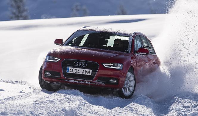 curso conducción en la nieve Audi 2016 3