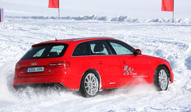 curso conducción en la nieve Audi 2016 5