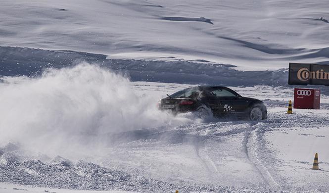 curso conducción en la nieve Audi 2016 6