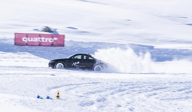 curso conducción en la nieve Audi 2016 7