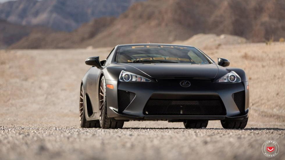 Lexus LFA Vossen frontal