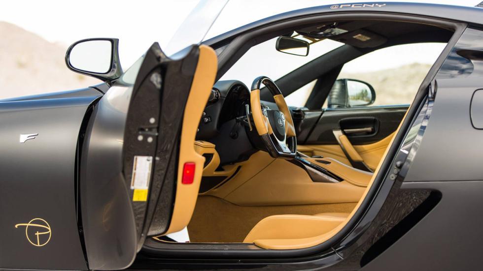 Lexus LFA Vossen interior