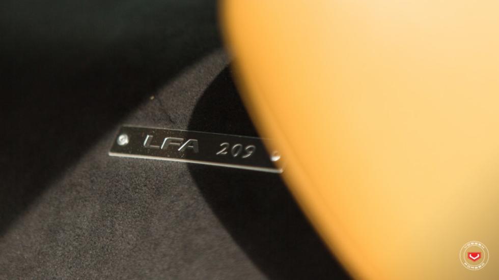 Lexus LFA Vossen 209