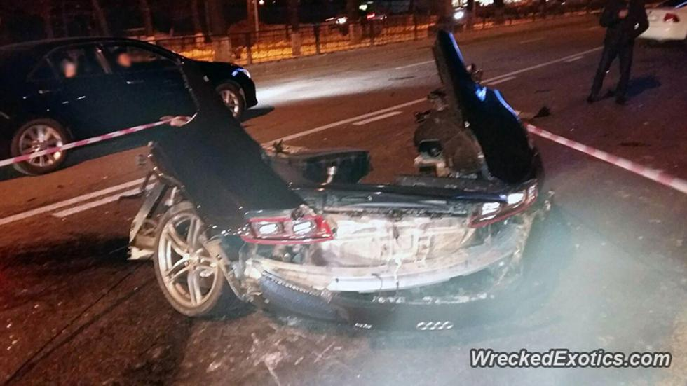 accidente audi r8 partido