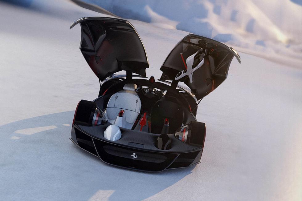 Ferrari Manifesto Concept puertas