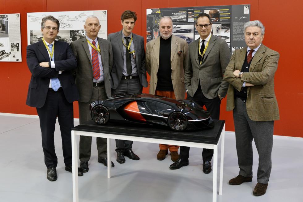 Ferrari Manifesto Concept concurso diseño