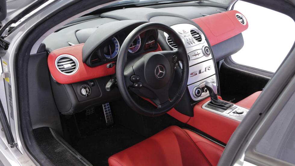 Mercedes SLR McLaren Alessandro Del Piero interior