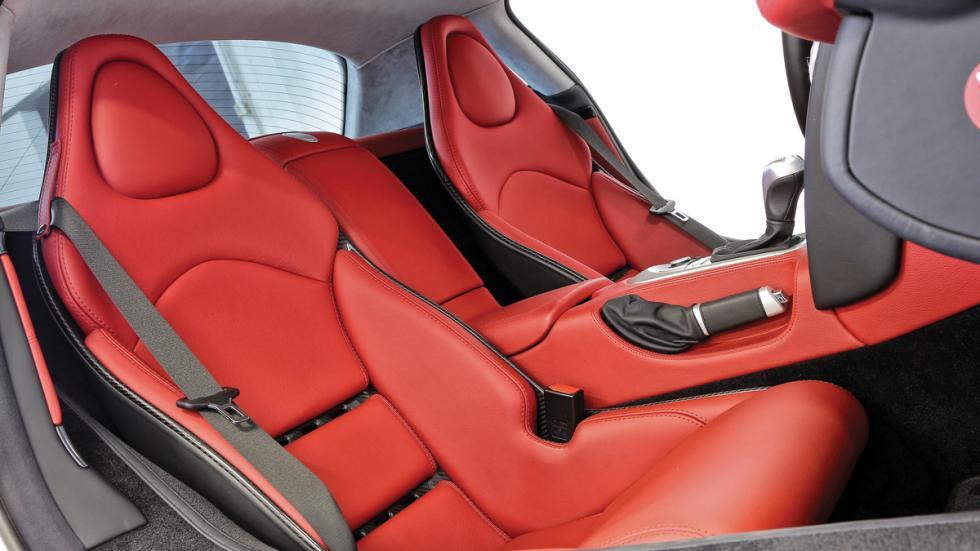 Mercedes SLR McLaren Alessandro Del Piero asientos