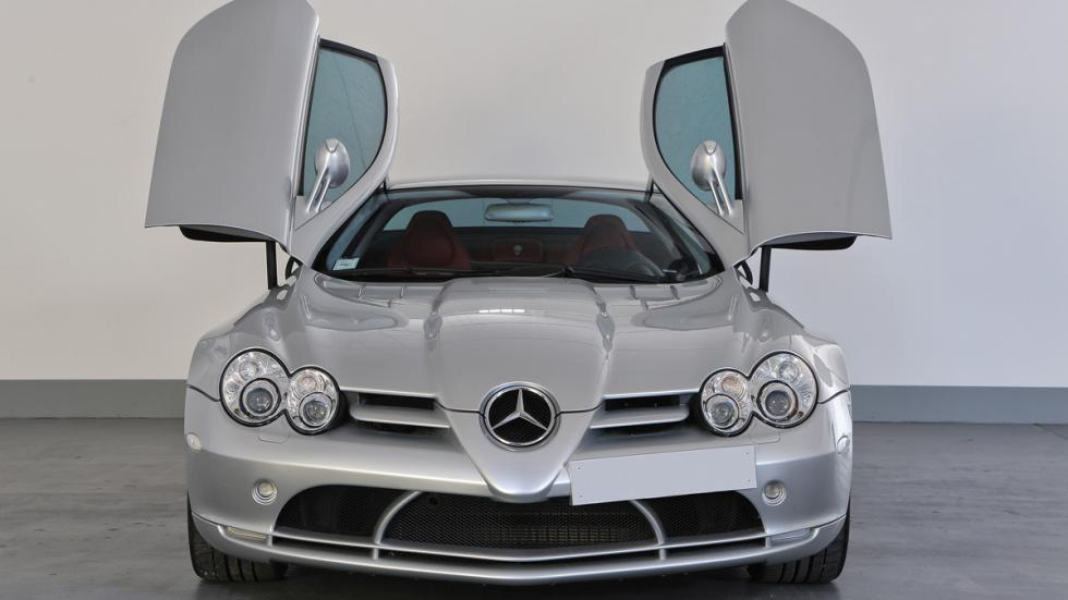 Mercedes SLR McLaren Alessandro Del Piero frontal puertas