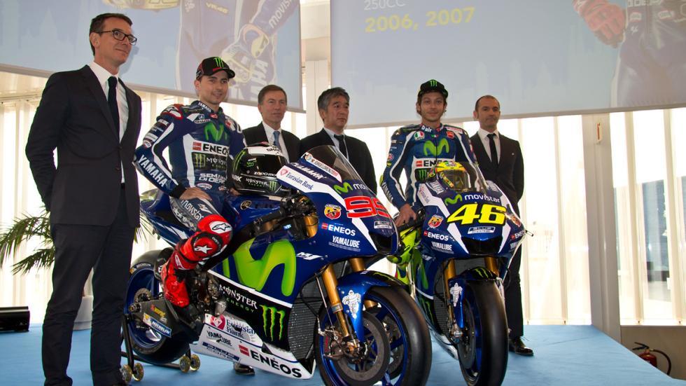 Yamaha MotoGP 2016 presentacion barcelona