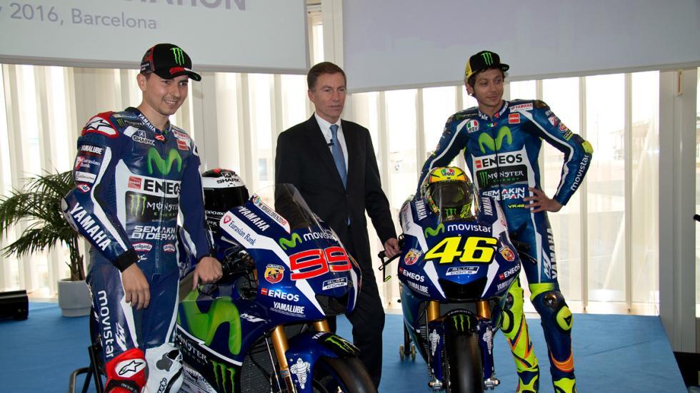 Yamaha MotoGP 2016 presentacion lin jarvis