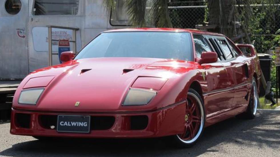 Ferrari F40 limusina frontal