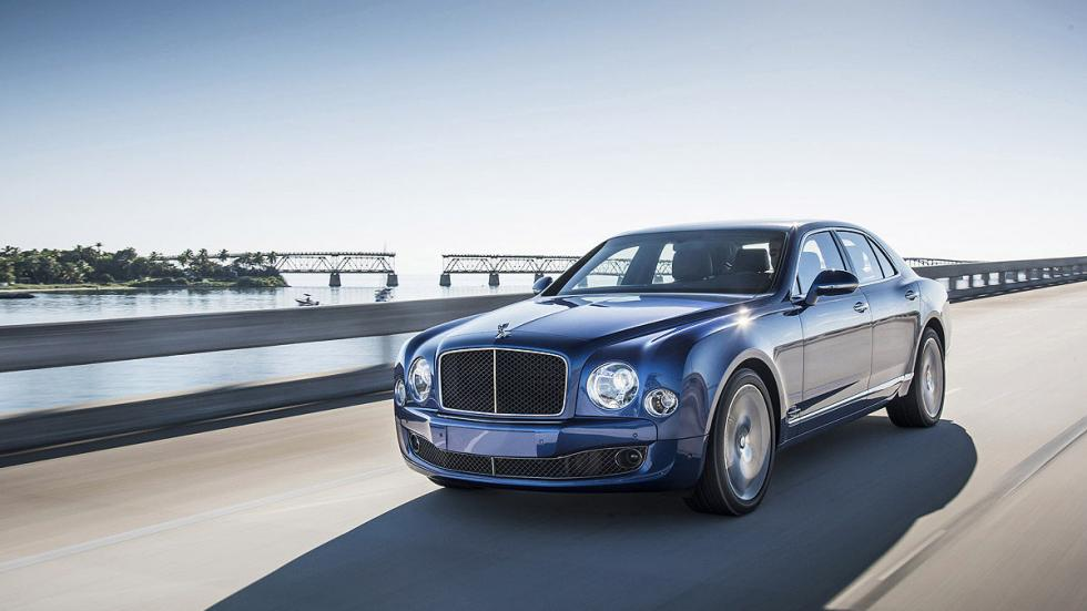 Bentley Mulsanne Speed carretera