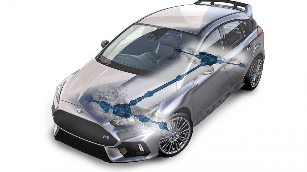 Ford Focus RS 2016 técnica