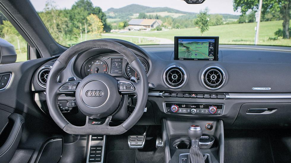 Abt RS 3 interior