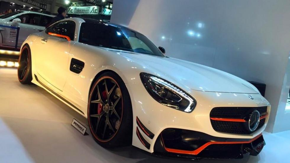 Mercedes-AMG GT Wald International frontal