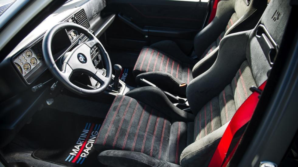 Lancia Delta Integrale HF Martini  asientos