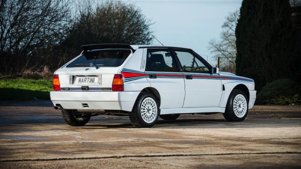 Lancia Delta Integrale HF Martini  trasera