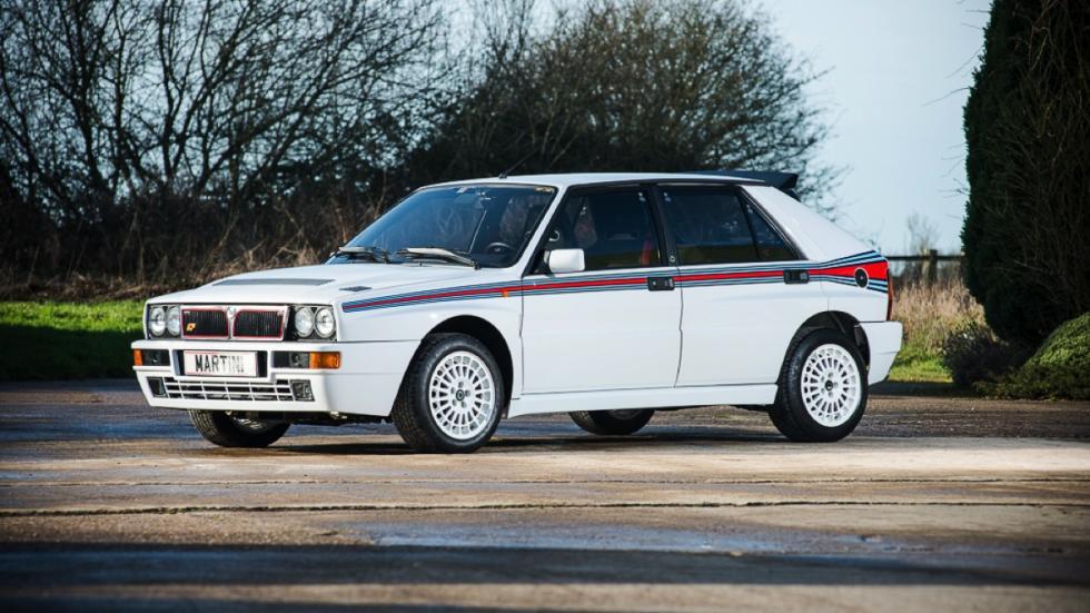 Lancia Delta Integrale HF Martini frontal