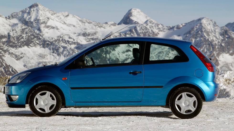 Ford fiesta mk5 lateral